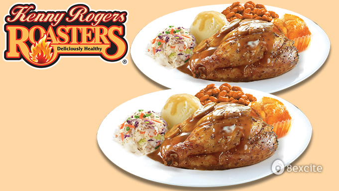 Rm30 For Kenny Rogers Roasters Red Hot Meal For 2 Persons