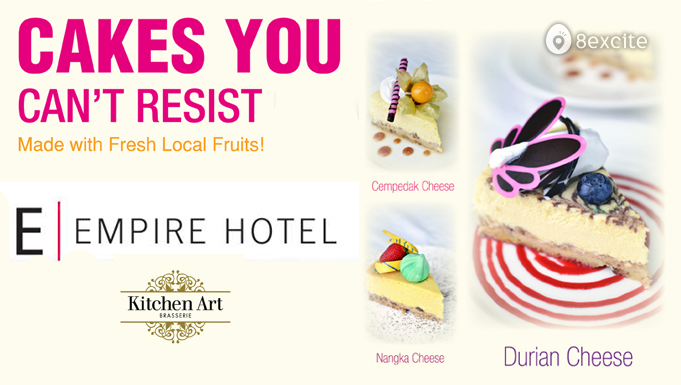 Save Up To 20 On 1 5kg Fruit Flavored Cheese Cakes At Kitchen Art